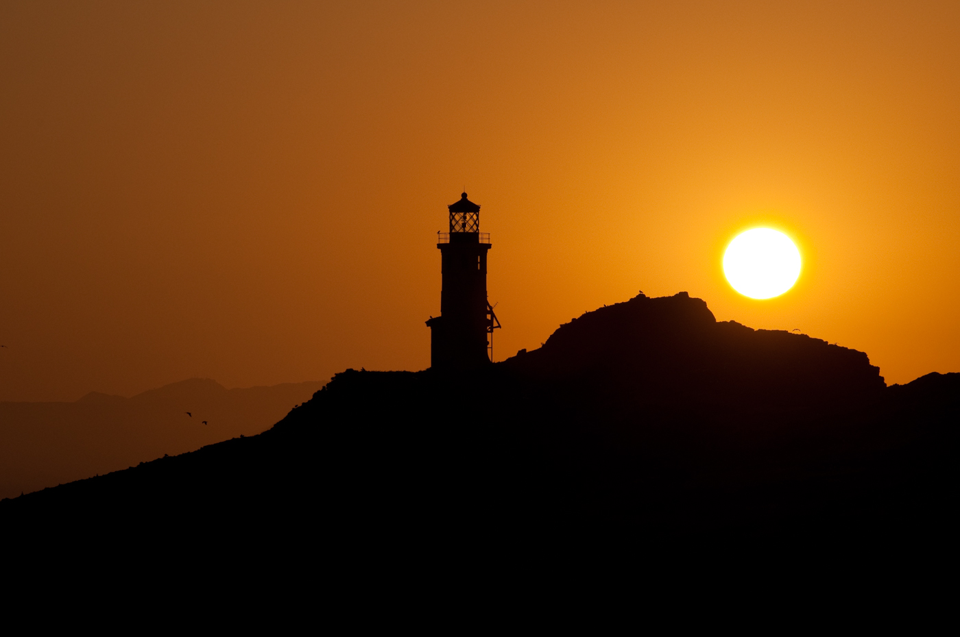 Anacapa Lighthouse at dawn. Photo by Stuart Wilson.