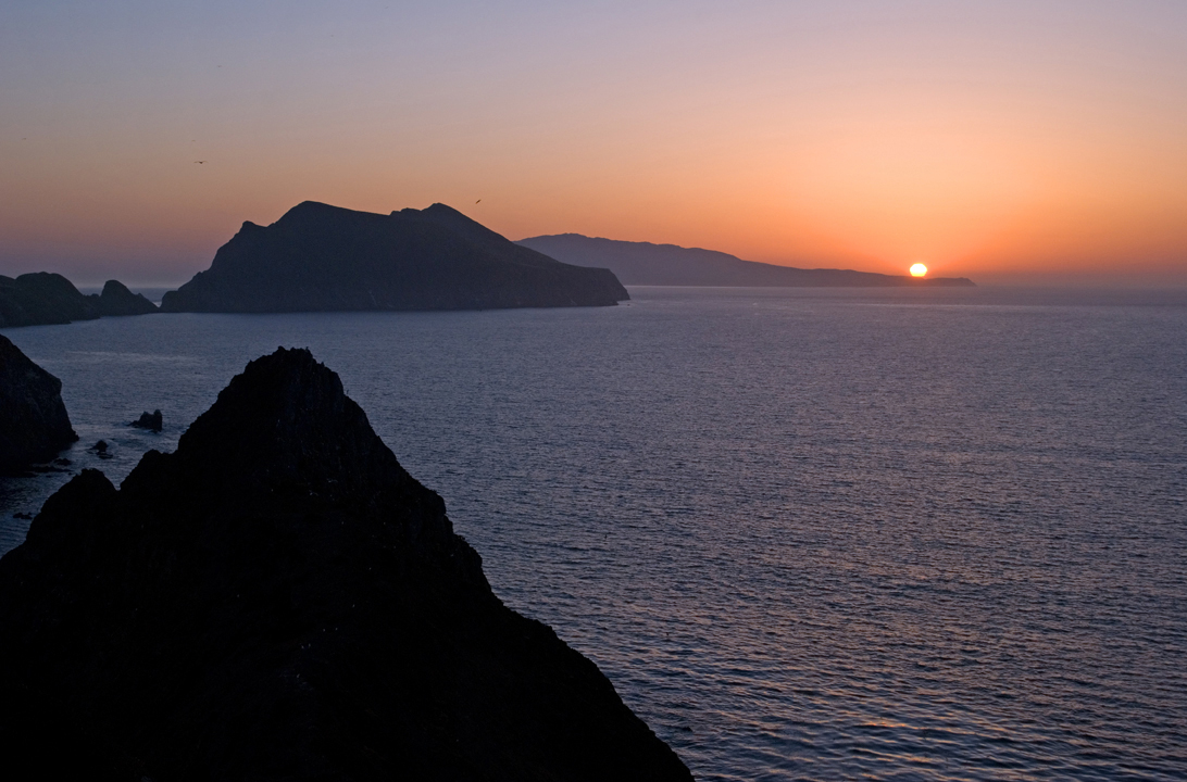 View from Inspiration Point, Anacapa Island. Photo by Stuart Wilson.